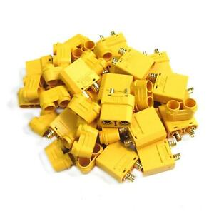 10-Pairs-Amass-XT90H-Male-amp-Female-Connector-Plug-for-Rc-Battery-ESC-Charge-Lead