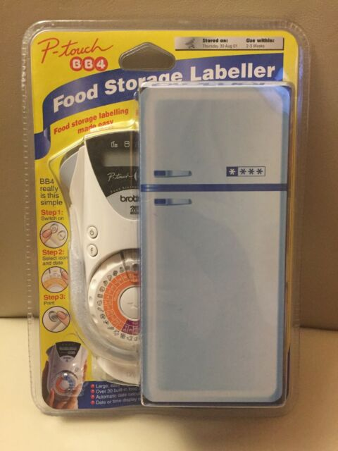 Brother P-Touch BB4 Food Storage Labeller - NEW and SEALED