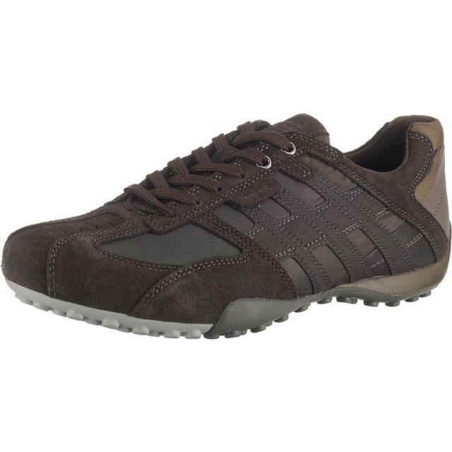 Geox Snake zapatos caballero-deportivo zapato bajo-schnürschuhe negro nuevo