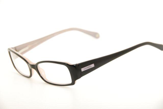 Authentic CHANEL 3091 C.851 Black/violet 51mm Frames Eyeglasses ...
