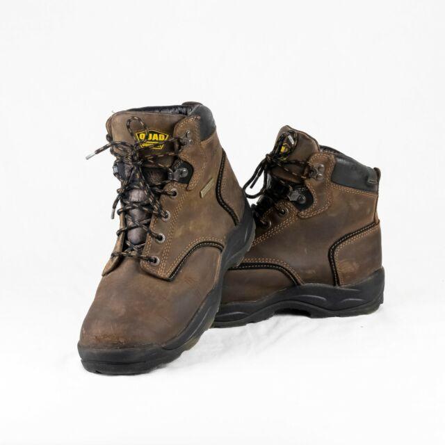 Steel Toe Brown Work BOOTS