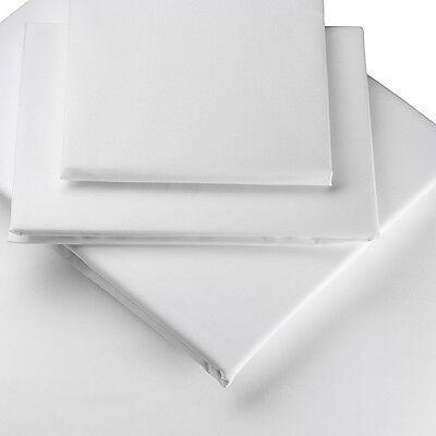 100% Cotone Egiziano-biancheria Da Letto Montato E Flat Sheets E, Copripiumini Ridotto- Una Gamma Completa Di Specifiche