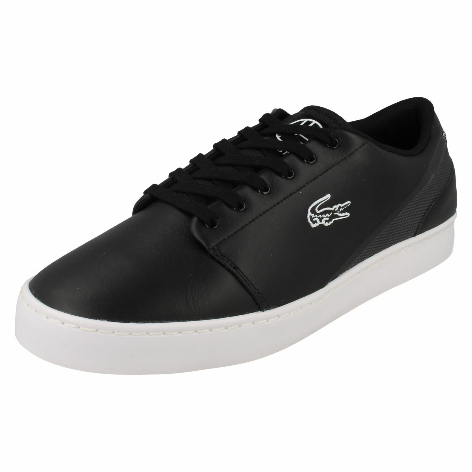 Mens Lacoste Casual Lace Up Trainers Court Legacy
