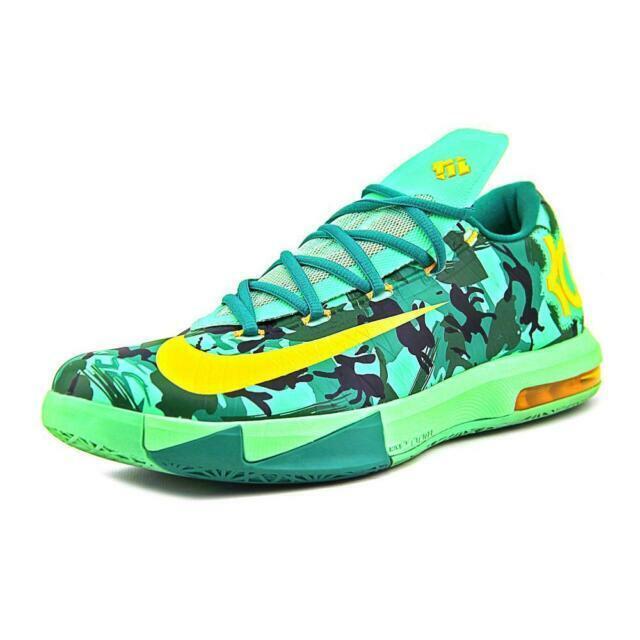 2014 Nike KD VI 6 Easter Green Camo