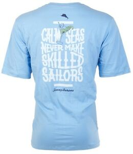 TOMMY-BAHAMA-Men-T-Shirt-CALM-SEAS-Sailors-Boat-Martini-SKY-BLUE-Camp-XL-3XL-45