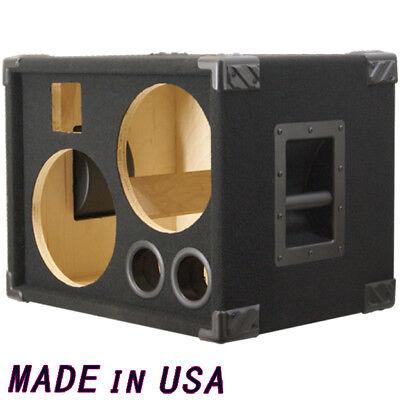 2x10 bass guitar speaker cabinet empty black carpet bg2x10ht ebay. Black Bedroom Furniture Sets. Home Design Ideas