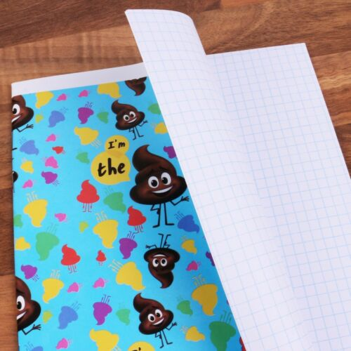 THE EMOJI MOVIE A5 SQUARE PAPER NOTEBOOKS Memo Jotter Diary Exercise Note Pad
