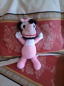 Baby Topolina Lavorato A Uncinetto Amigurumi Idea regalo Per Natale - Italia - Baby Topolina Lavorato A Uncinetto Amigurumi Idea regalo Per Natale - Italia