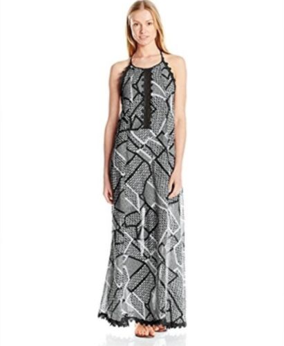 Seafolly Field Day Maxi Dress Black Large