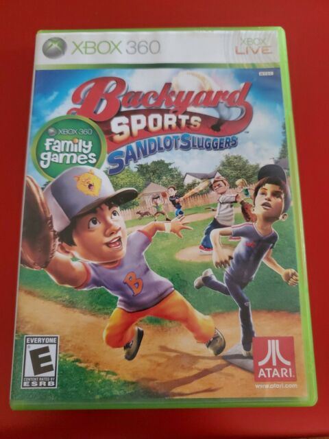 Backyard Sports: Sandlot Sluggers - Xbox 360 - Video Game ...