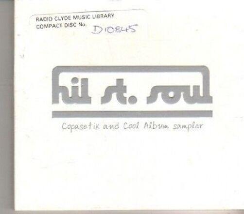 (CD710) Hil St Soul, Copasetik And Cool Album Sampler - 2002 DJ CD