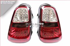 2001-2004 MINI COOPER R50 R52 R53 JCW RED CLEAR JDM LED TAIL LIGHTS REAR LAMPS