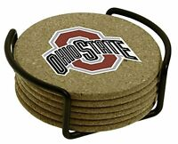 Thirstystone Ohio State University With Holder Included Cork Gift Set, New, Free