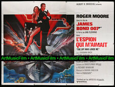SPY WHO LOVED ME • French 8 Panel Movie Poster (f) • HUGE • ROGER MOORE • 1977