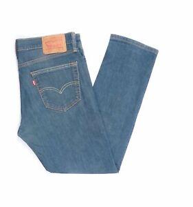 Levi-039-s-Levis-Jeans-511-W34-L30-blau-stonewashed-34-30-Straight-JA5909