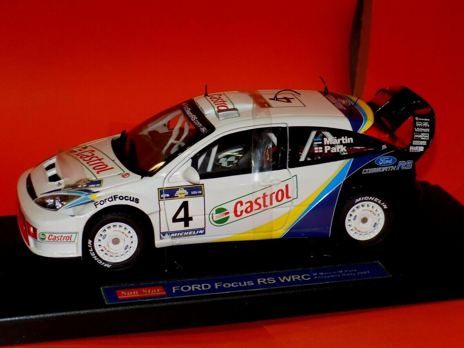 1:43 decal Racing43:Ford Focus WRC 2003 Argentina 2003 Martin