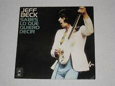 """JEFF BECK YOU KNOW WHAT I MEAN SPANISH ORIGINAL ISSUE 7"""""""