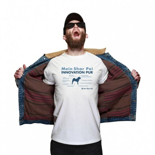 Shar Pei Unisex T-Shirt Innovation Hundemotiv Faltenhund Chinese