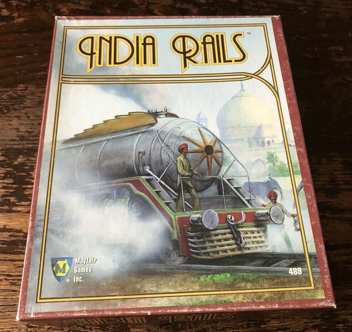 Mayfair Juegos Empire Builder sistema rieles de la India 489 Completa