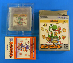 Yoshi-039-s-Cookie-Complete-in-Box-Nintendo-Game-Boy-GB-1992-Japan-Import