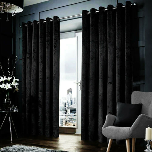Blackout Crushed Velvet Curtains, Can You Wash Crushed Velvet Curtains