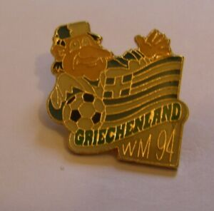 WORLD-CUP-94-USA-SOCCER-GREECE-Limited-Edition-500-vintage-pin-badge-Z8J