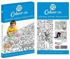 Eggnogg Colour In Giant Poster Tablecloth Playmat Dinosaurs 127cm x 95cm