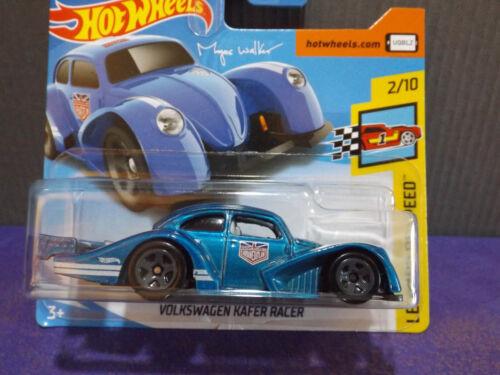2018 Hot Wheels VOLKSWAGEN KAFER RACER HW LEGENDS OF SPEED 2//10 short card.