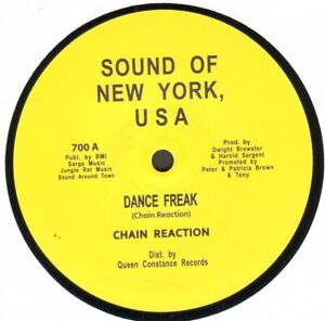 Chain Reaction / Little Scotty – Dance Freak / Shout At The Disco - USA Es 700