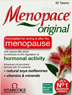Vitabiotics Menopace Tablets for Menopause (90)