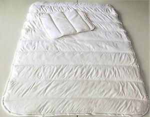 Baby Kinder Bettdecken Maße 100x135 cm.(2 Tlg.1 Bettdecke + 1 Kopfkissen Flach)