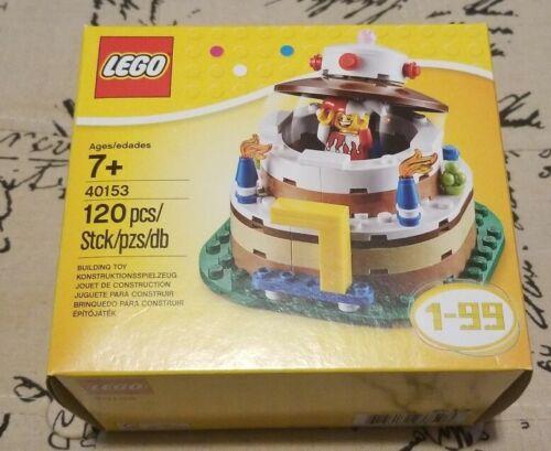NEW SEALED LEGO Set 40153 Birthday Cake Set Sealed