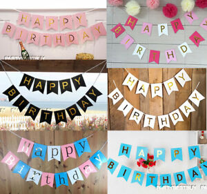 Pastel-Happy-Birthday-Bunting-Garland-Gold-Alphabet-Party-Hanging-Banner-Decor