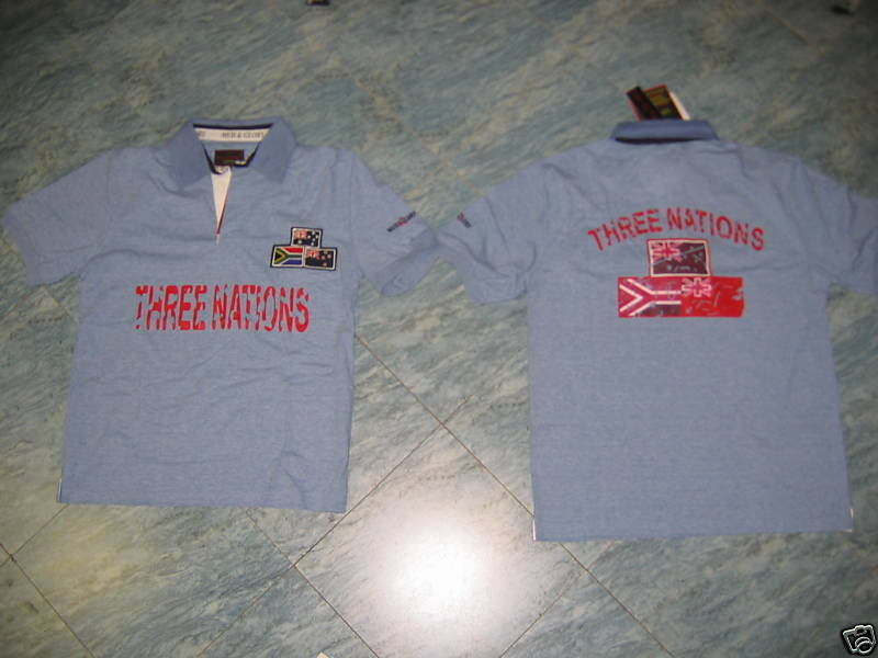MUD & GLORY POLE RUGBY TREE NATIONS COTTON SIZE S