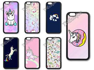 Coque-BUMPER-Silicone-IPHONE-SAMSUNG-Unicorn-Licorne-cheval-mignon-CASE-TPU