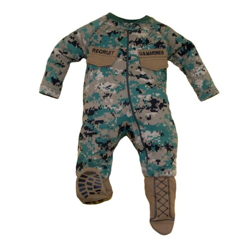 Marine Corps Uniform Infant Crawler with Boots