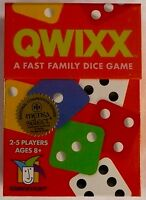 Qwixx A Fast Family Dice Game 2-5 Players Ages 8+ Gamewright 15 Minutes >new
