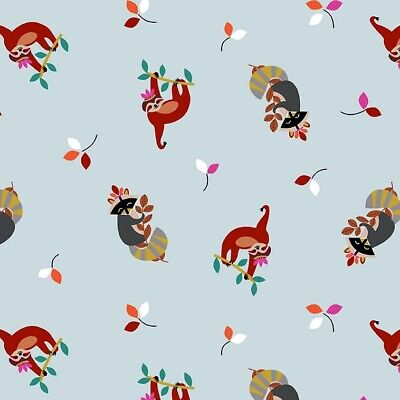 Animal Friends Fabric by Michael Miller in FQ and Metre Lengths