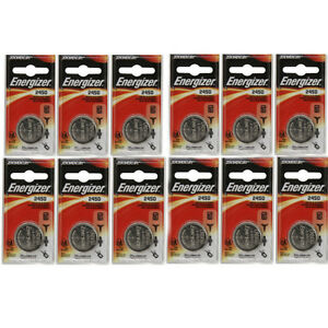 12 Pack Energizer CR2450 ECR2450 CR 2450 3V Lithium Coin Cell Button Battery