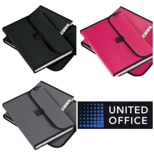 UNITED OFFICE Organiser Files  2 Pack A4 New!!!