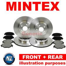 Mintex Delantero Trasero De Discos De Freno Y Almohadillas Kit mdc1905 mdb2938 mdc1906 mdb2261