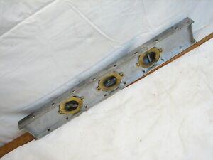 Antique Brass Steel Marshall Wells Zenith Woodworking Level Tool Inclinometer