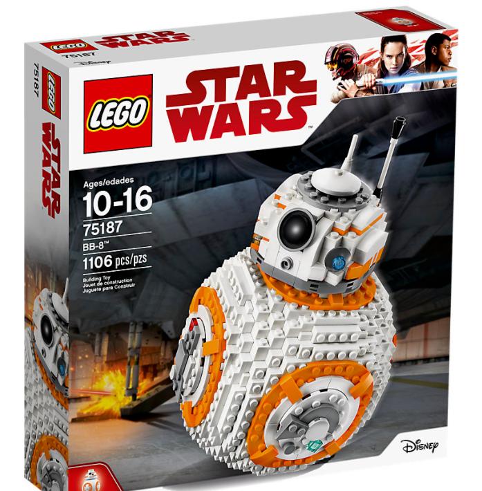 LEGO Star Wars 75187 BB-8 ~ NUOVO ~