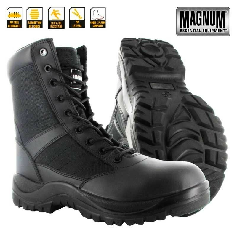 Magnum Centurion 8.0 Side Zip COMPOSITE TOE Police Uniform Combat Combat Combat Security Cadet b3d14c