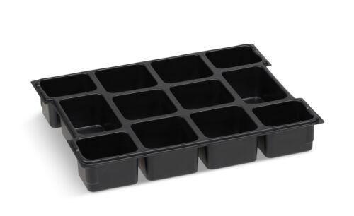 L BOXX Einlage Einsatz mit 12 Fächern für Bosch Sortimo L-BOXX Sortimentskasten