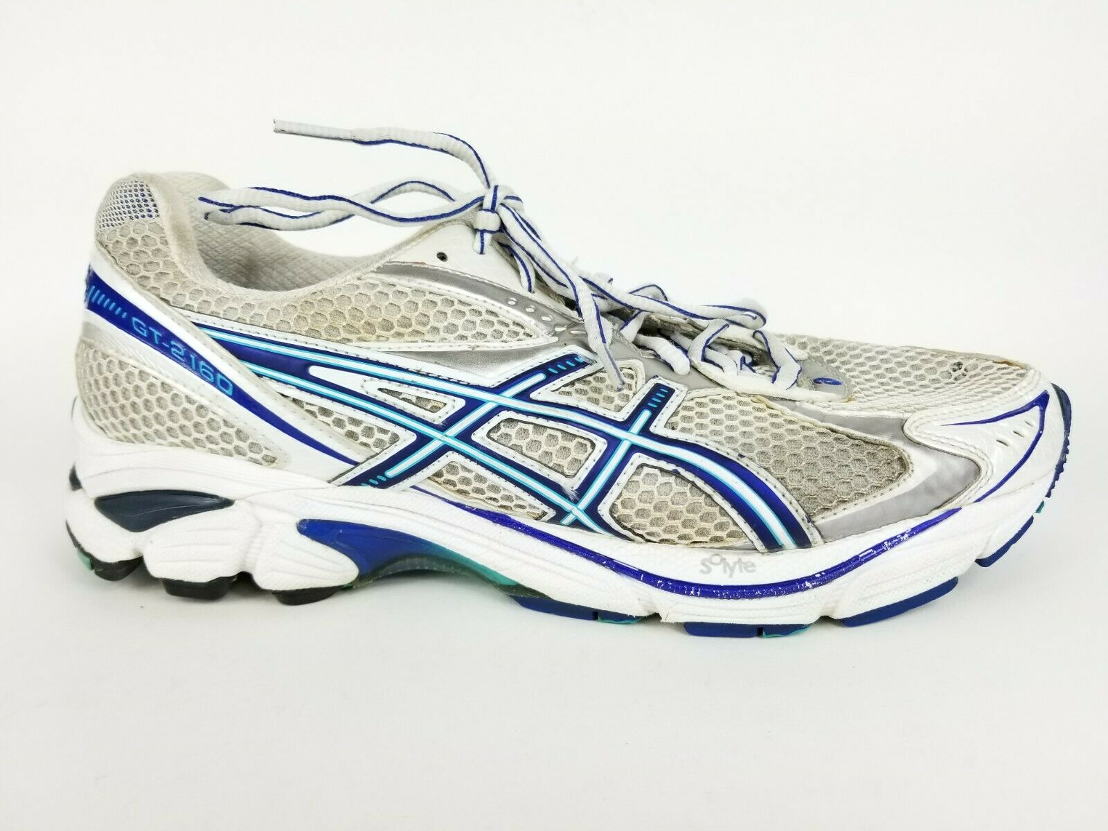 Asics Gt 2160 Road Running Athletic shoes Sneakers Lace Up Women's Size 10 (2E)