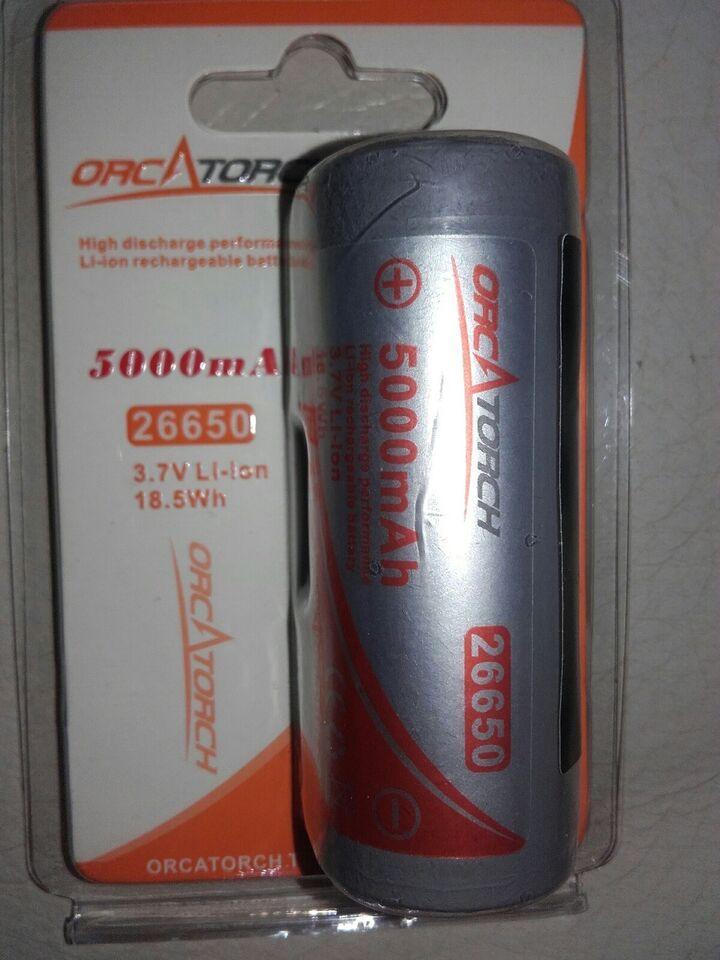 Orcatorch batteri OrcaTorch