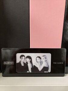 Blackpink-The-Album-Mounted-Photocard-Kpop-Bookmark-Postcard-Cute-Jennie-Lisa