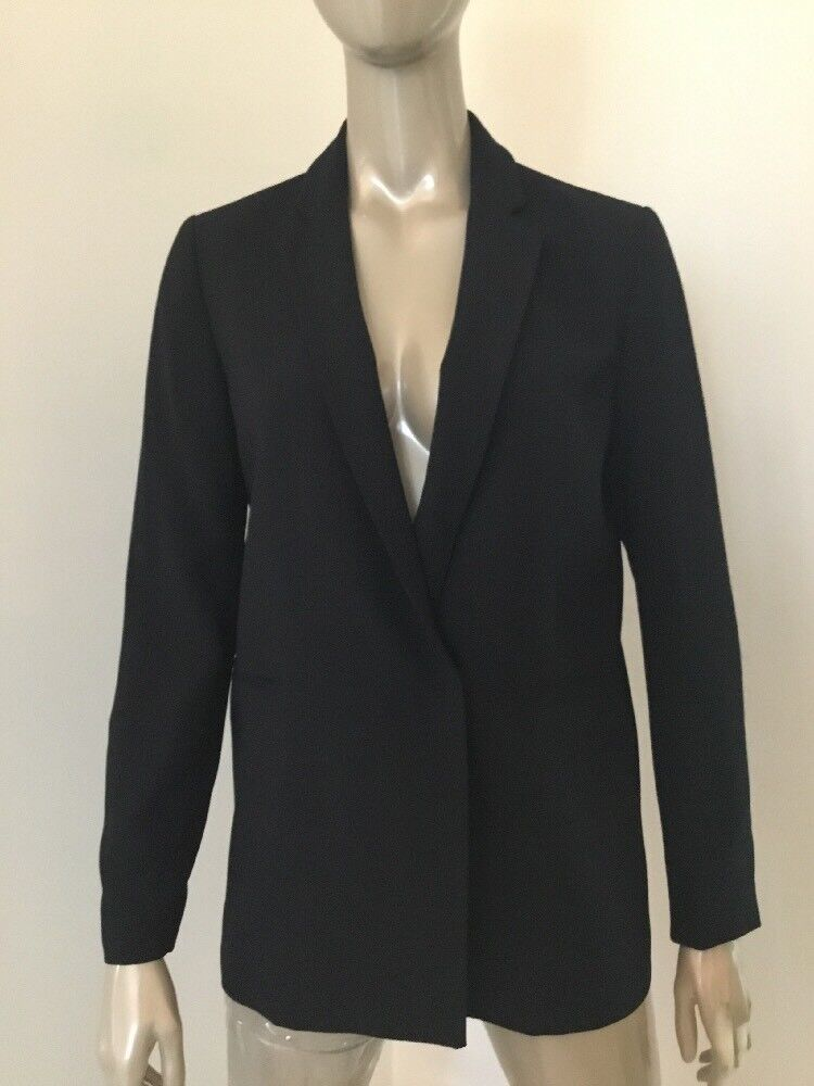 NWT MADEWELL WOMENS LINED SNAP ENCLOSURE BLAZER NAVY blueW SIZE 6  148