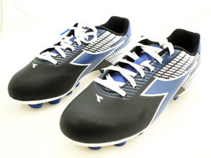 Diadora Ladro Md Junior Football Crampons Noir/bleu/blanc, 6.5 M Us-te, 6.5 M Usafficher Le Titre D'origine